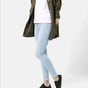 Topshop bleached Jamie jeans